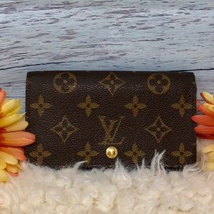 Authentic Louis Vuitton Monogram Billet Tresor Wal
